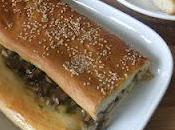 Mushroom Garlic Stuffed Picnic Loaf