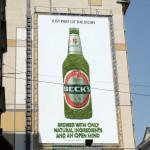 Moss Takes Over a Billboard in a Good Way