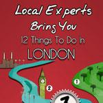 Infographic on Top Things To Do In London