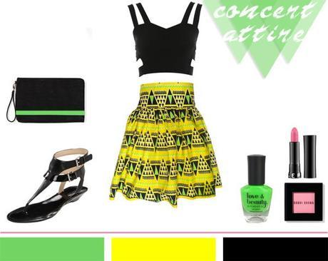 Neon Green + Yellow + Tribal…