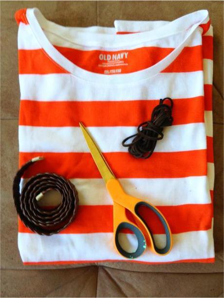 DIY:T-shirt Bag