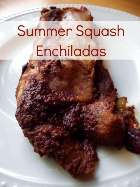 Summer Squash Enchiladas 450x600 Vegan Summer Squash Enchiladas