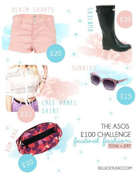 The £100 ASOS Challenge - Festival Fashion