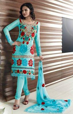 Extravagant Pakistani Eid Salwar Kameez Collection 2012