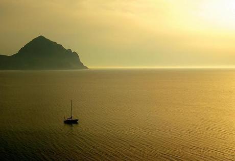 Sunset, Sicily