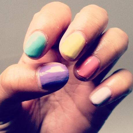Pastel Nail Polishes For Summer
