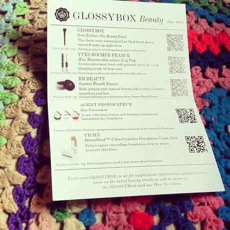 Glossybox // June
