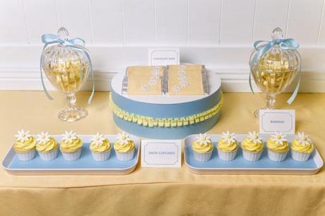 Daisy Themed 1st Birthday by Zesty Events
