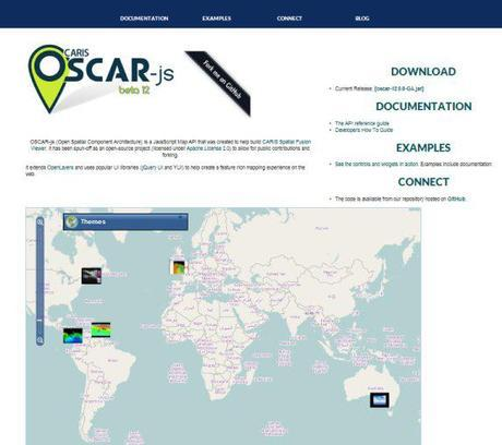CARIS OSCAR-js website