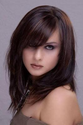 Modern And Latest Hairstyles for Pakistani & Indian Girls - Paperblog