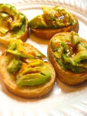 healthy snack, avocado, Raw Olive, Cooking Light Magazine