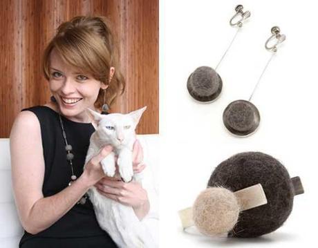 Cat Hair Craft: 10 Cute & Kitschy Creations Made From Feline Fur