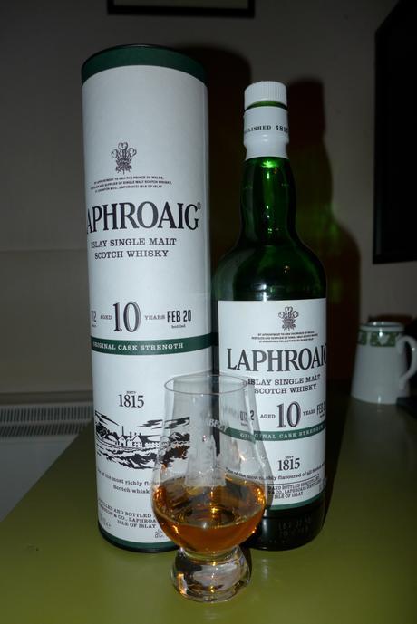 Tasting Notes: Laphroaig: 10 Original Cask Strength – Batch 12