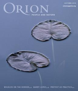Letter to the Editor; Orion Magazine