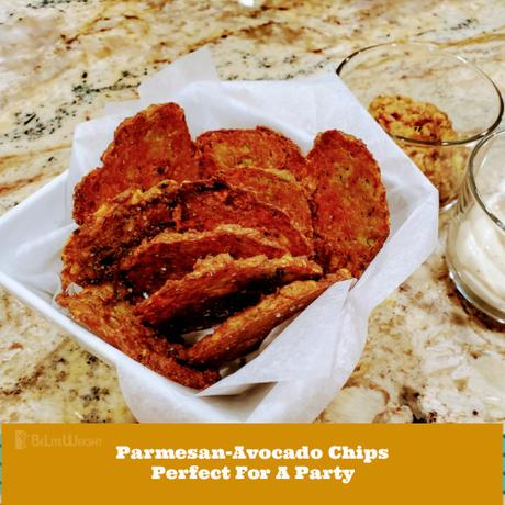 Parmesan-Avocado Chips Perfect For A Party