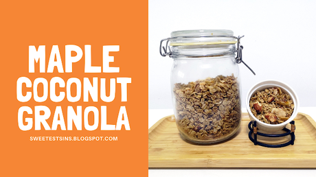 Coconut Maple Cinnamon Granola