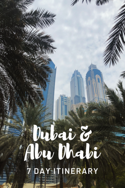 Easy 7 Day UAE Itinerary