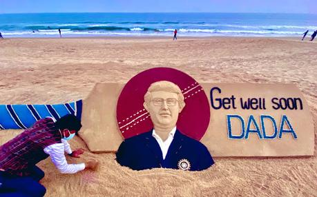 Wishing Dada to get well sooner .. .. did some Indian players breach bio-bubble !!