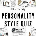 what's my personality style