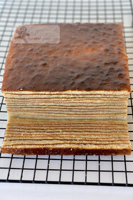 best super moist Bengawan Solo kek lapis lapis legit spekkoek Indonesian layer cake