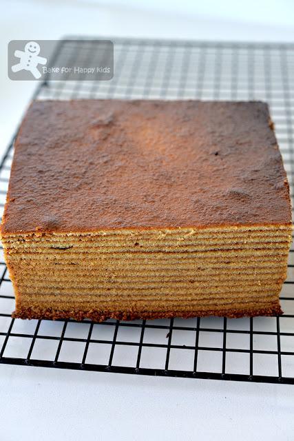 Like Bengawan Solo Kek Lapis / Lapis Legit / Spekkoek/ Indonesian Layer Cake - The BEST Kek Lapis recipe!!! HIGHLY RECOMMENDED!!!