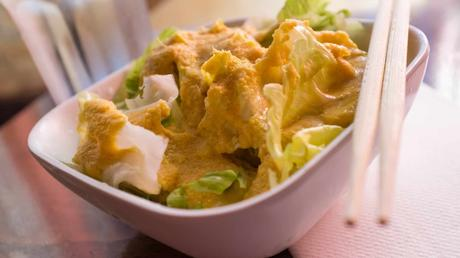Miso ginger recipe for salad