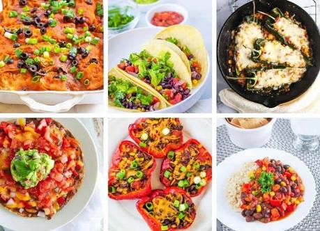 Vegetarian Mexican Recipes: 30 Healthy Meals