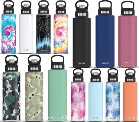 Start 2021 Off Hydrated with Tervis 40oz Wide Mouth Water Bottles