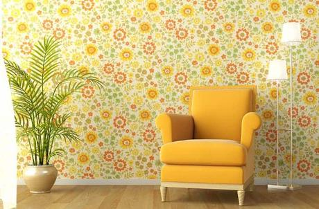 photo-interior-with-armchair-flowery-wallpaper