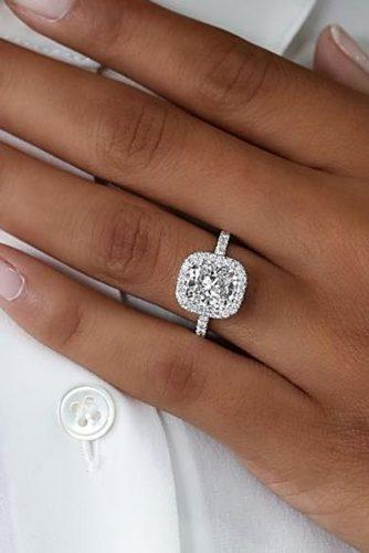 engagement ring trends 2019 diamond white gold
