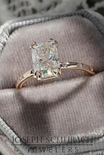 engagement ring trends 2019 oval cut simple classic rose gold
