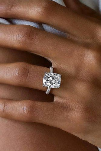 engagement ring trends 2019 pave band diamond