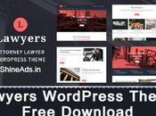 [GPL] Lawyers WordPress Theme Free Download