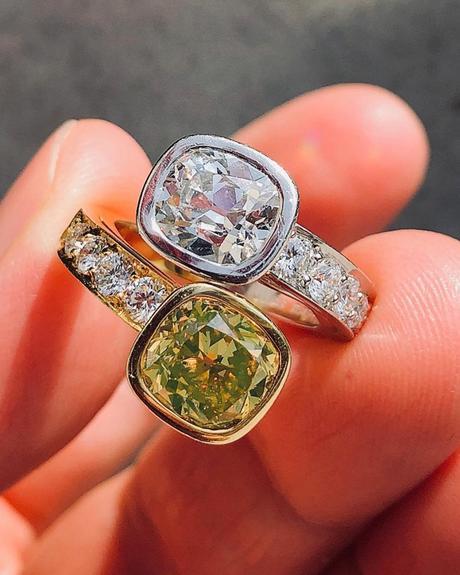 engagement ring insurance yellow diamond