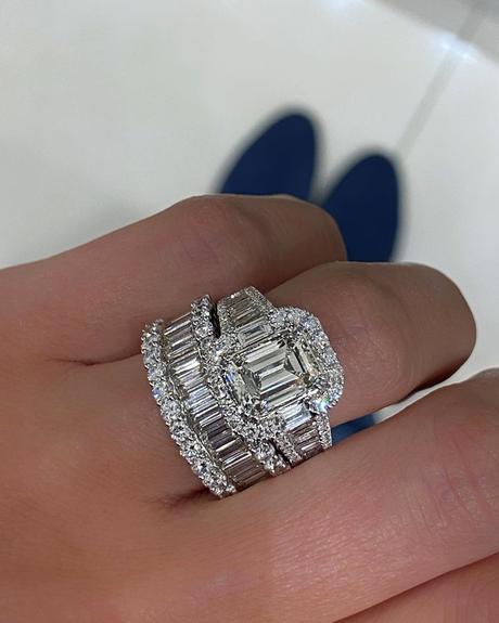 engagement ring insurance emerald cut rings