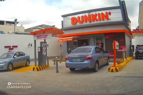 Dunkin' Philippines' First Drive-Thru Now Open