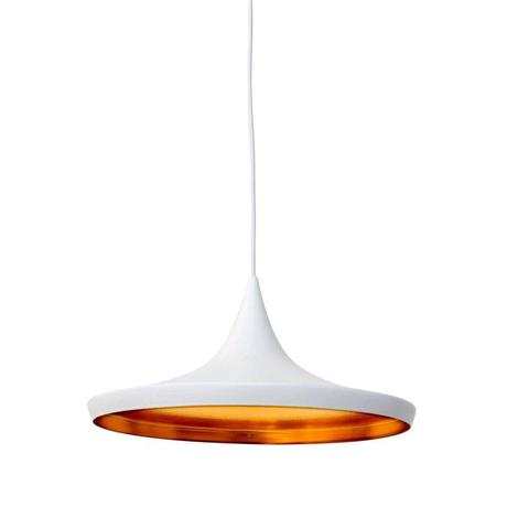 WIDE-WHITE Jayda Wide Pendant Lamp - White