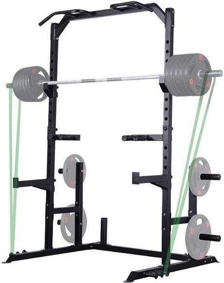 Mikolo Half Power Squat Rack