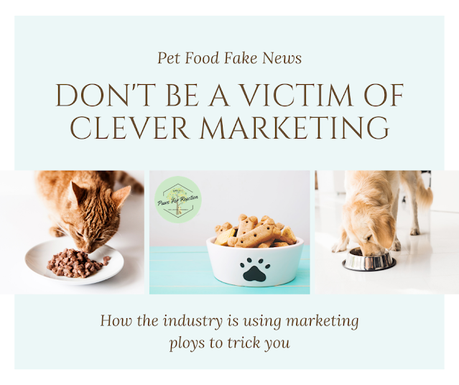 Pet food fraud: How the industry is using marketing ploys to trick you