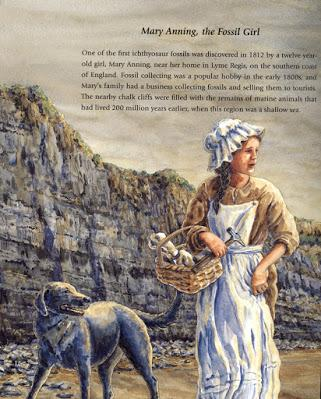MARY ANNING, FOSSIL GIRL, Discoverer of Ancient Giant Sea Reptiles