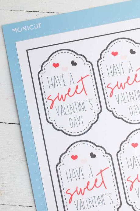 I Love You Jar with Handmade Gift Tags  (+ Printables!)