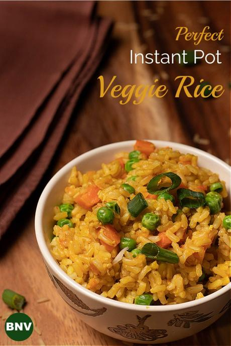 Instant Pot Veggie Rice