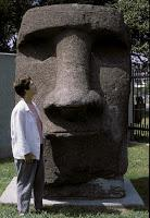 EASTER ISLAND'S GIANT STATUES: How Did They Move Them? by Caroline Arnold at The Intrepid Tourist
