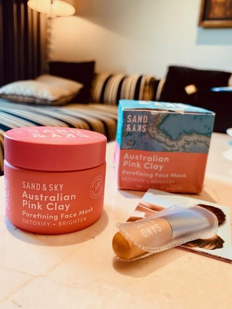 Sand & Sky Australian Pink Clay Review:  Is it effective on Indian skin?