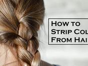 Strip Color From Hair?