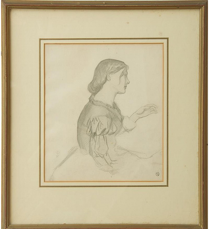 A Drawing of Mary Hillier