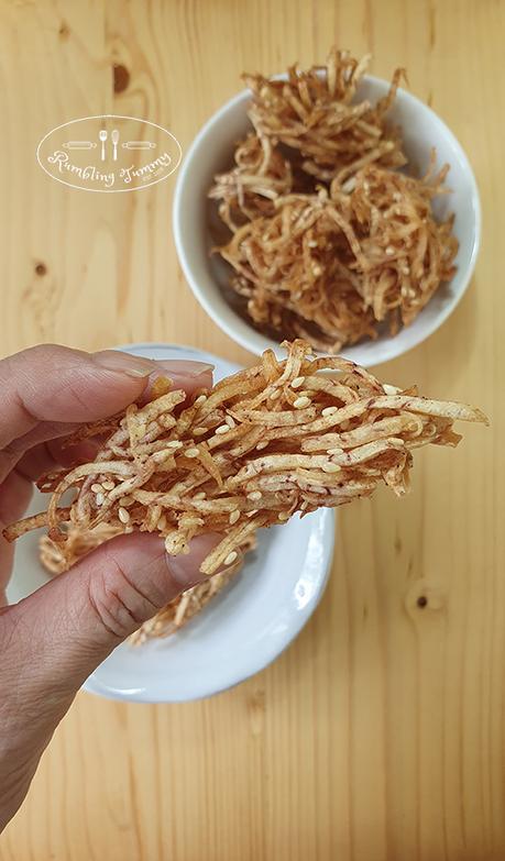Yam fritter (芋蝦)