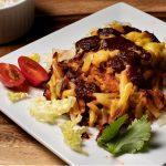 Cheesy Hash Brown Enchiladas