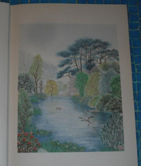 Painting of the Royal Botanic Gardens, Edinburgh