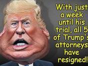 Trump's Attorneys Quit Week Before Senate Trial